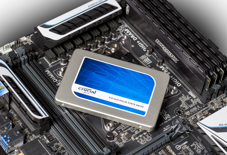 Bild Crucial BX200 2,5-Zoll SSD MB 2